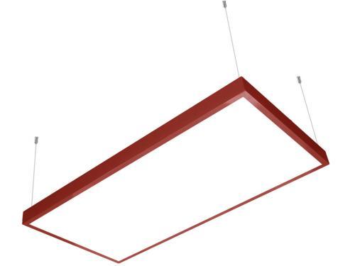 60x120 sıva üstü led panel sarkıt kırmızı