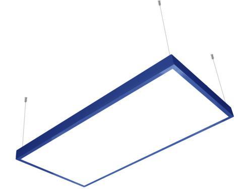 60x120 sıva üstü led panel sarkıt mavi