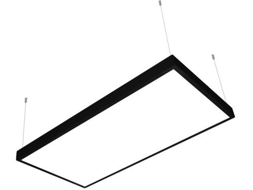 60x120 sıva üstü led panel sarkıt siyah