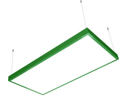 60x120 sıva üstü led panel sarkıt yeşil
