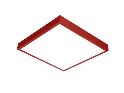 Kırmızı LED panel 60x60 sıva üstü