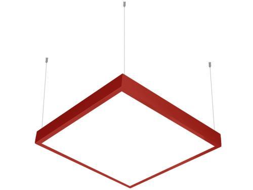 Kırmızı LED panel 60x60 sarkıt