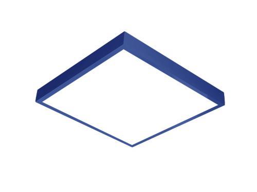 Mavi LED panel 60x60 sıva üstü