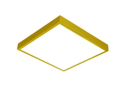 Sarı LED panel 60x60 sıva üstü