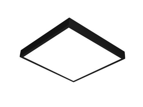 Siyah LED panel 60x60 sıva üstü
