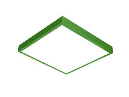 Yeşil LED panel 60x60 sıva üstü