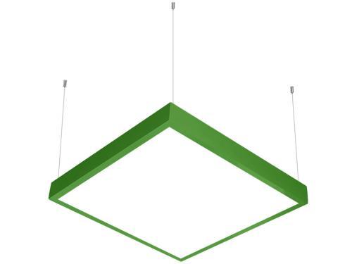 Yeşil LED panel 60x60 sarkıt