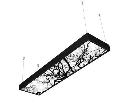 ağaç desenli 30x120 sıva üstü LED panel