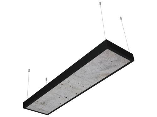 beton desenli 30x120 sıva üstü LED panel