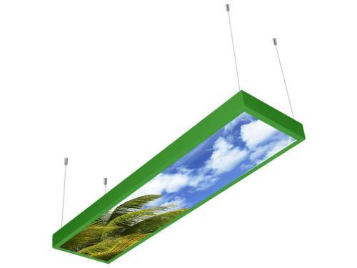 gökyüzü desenli 30x120 sıva üstü LED panel