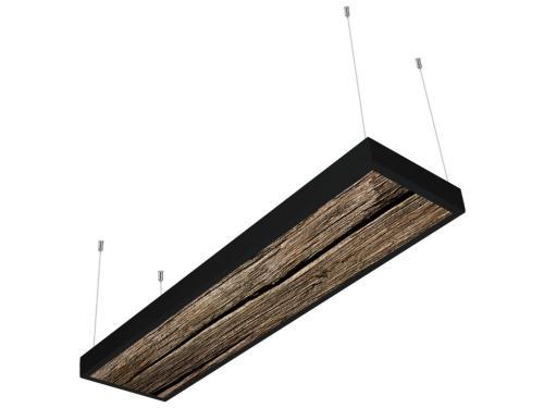 kütük desenli 30x120 sıva üstü LED panel