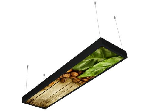 kahve desenli 30x120 sıva üstü LED panel