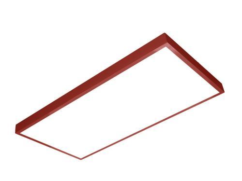 sıva üstü led panel 60x120 kırmızı