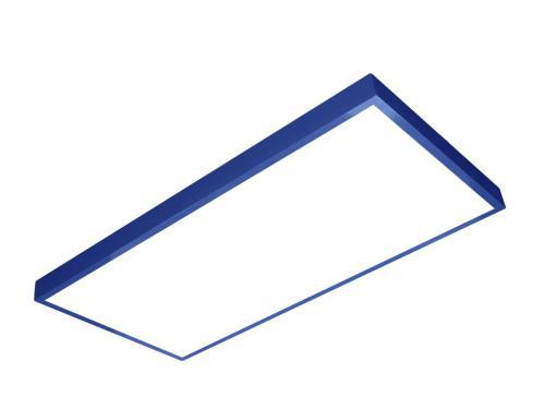 sıva üstü led panel 60x120 mavi