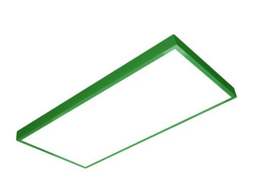 sıva üstü led panel 60x120 yeşil