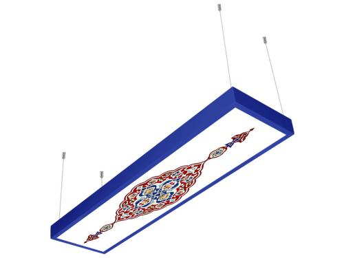 selçuklu desenli 30x120 sıva üstü LED panel
