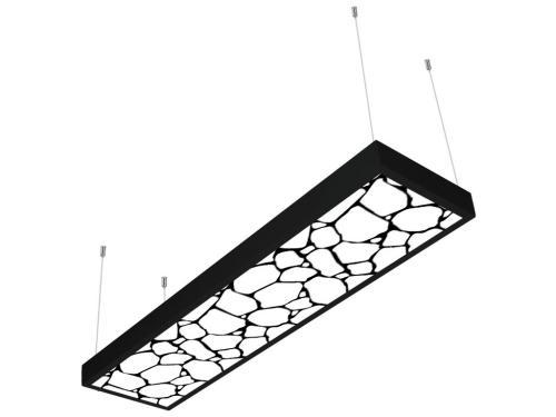 taş desenli 30x120 sıva üstü LED panel